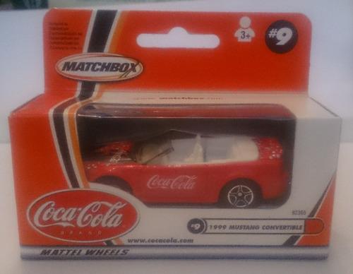 matchbox 2002 coca cola 1999 mustang convertible leer public