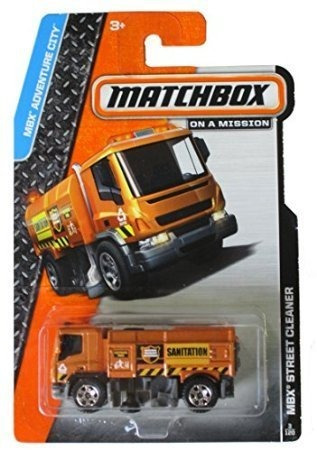 matchbox 2014 en una misión mbx adventure city street clean