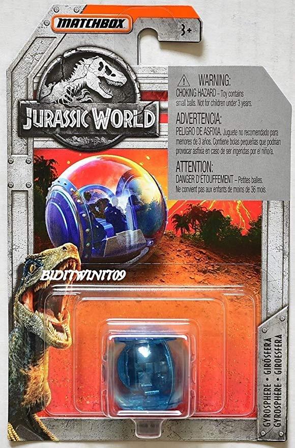 Matchbox 2018-Jurassic World-gyrosphere-nuevo en caja original