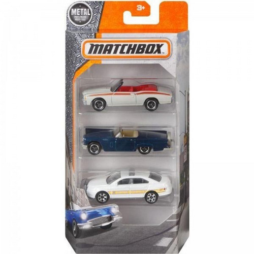 matchbox 3 pack - open roadsters