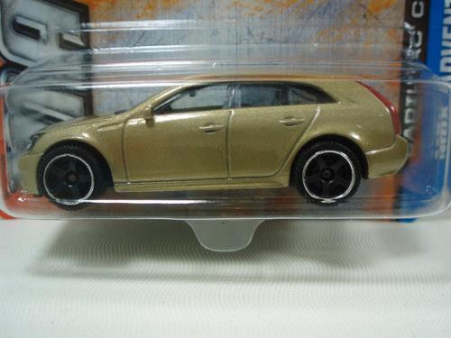 matchbox 60 aniversary cadillac cts wagon dorado 1:64
