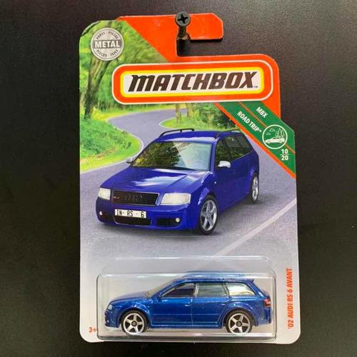 matchbox audi wagon rs 6 2002 oliwagens