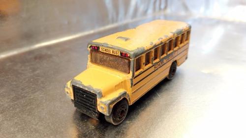 matchbox - autobus school bus de 1985 #1