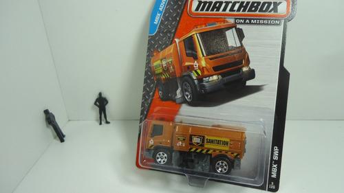 matchbox barredora- street cleaner   ganalo...!!!