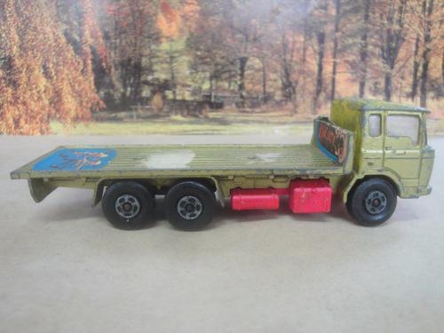 matchbox caminhão daf building super kings k-13 jorgetrens