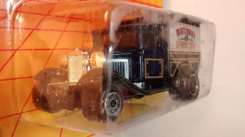 matchbox camión antiguo de reparto speed shop