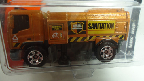 matchbox camion barredora , ganalo
