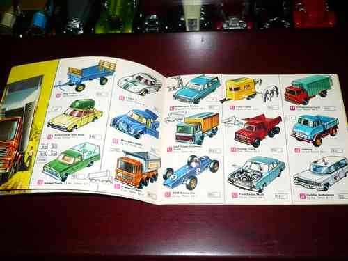 Matchbox Collector`s Catalogue 1969 Int A Lesney Product - $ 2 500,00