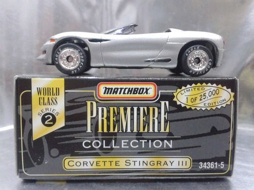 matchbox - corvette stingray lll