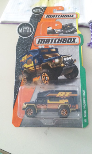 matchbox de coleccion 2015 mbx prospector