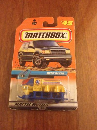 matchbox deep diver antiguo