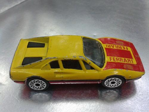 matchbox - ferrari 308 gtb de 1981   m.i. macau