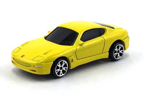 matchbox ferrari 456 gt sf 17/2005 rw amarelo 1/64 loose