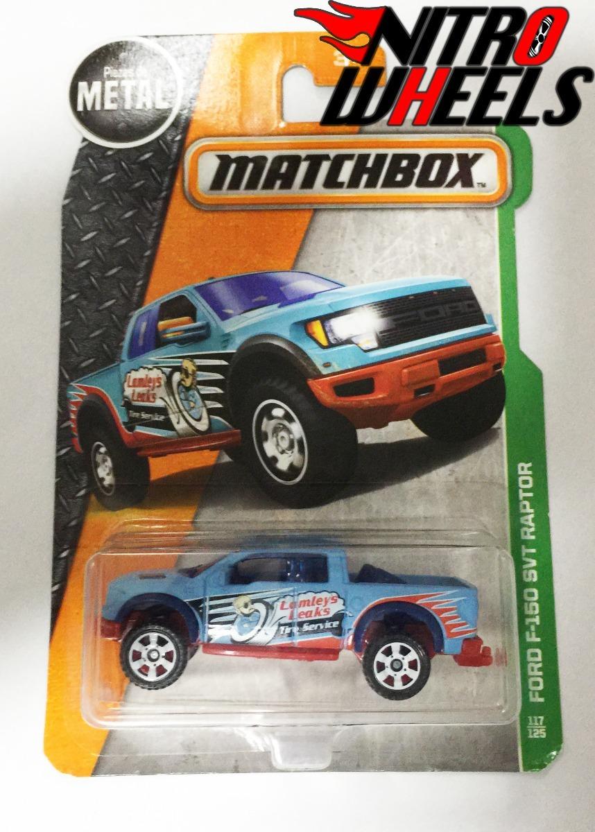 Matchbox Ford F-150 Svt Raptor - $ 40.00 en Mercado Libre