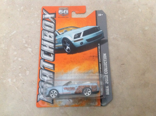 matchbox ford shelby gt500 convertible