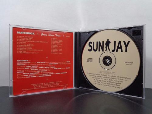 matchbox - going down town - cd original importado av8