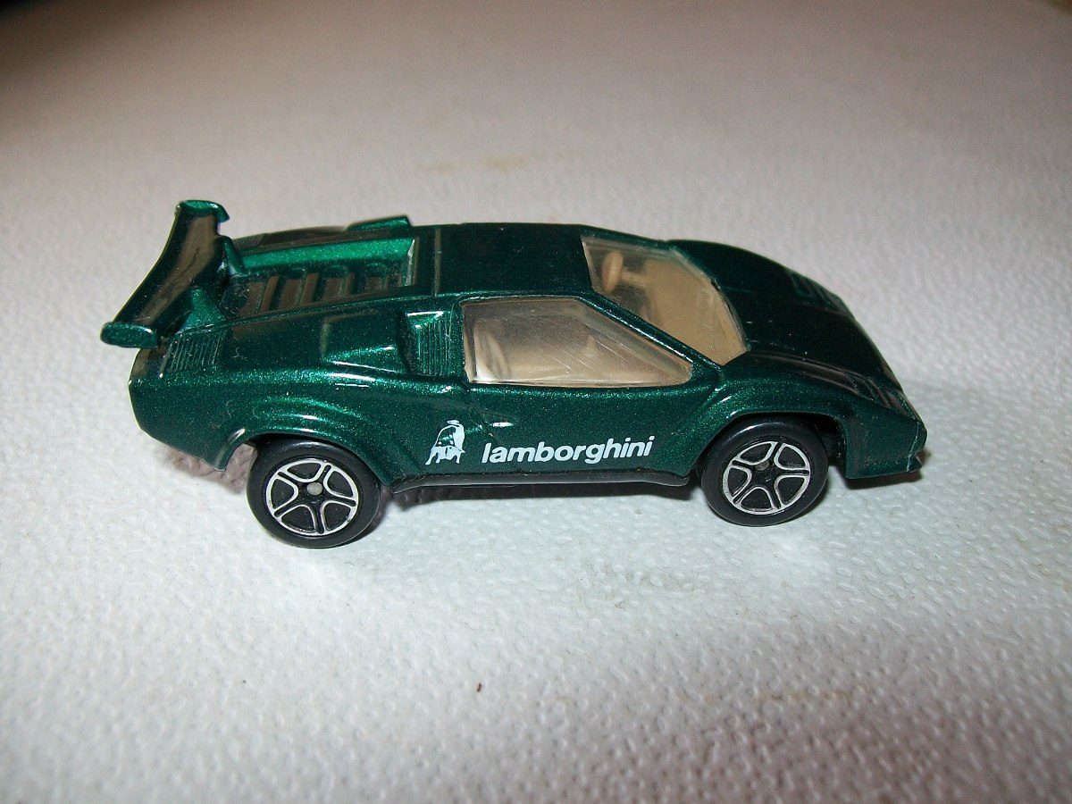 Matchbox Int L Ltd Lamborghini Countach Lp 500s China 1985