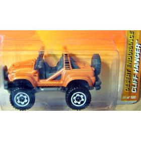 Matchbox Jeep Cliff Hanger Desert - 86 De 2010 (lacrado)