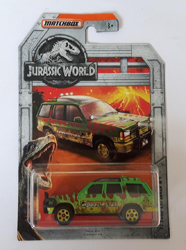 matchbox jurassic world ford explorer 93