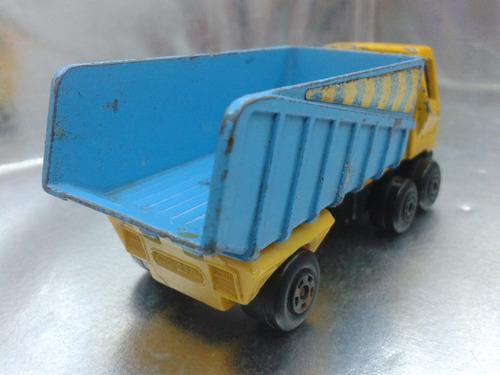 matchbox lesney - articulated truck de 1973 m.i. england bs