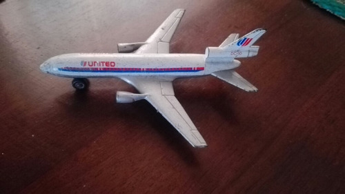 matchbox lesney avion united dc10 1973