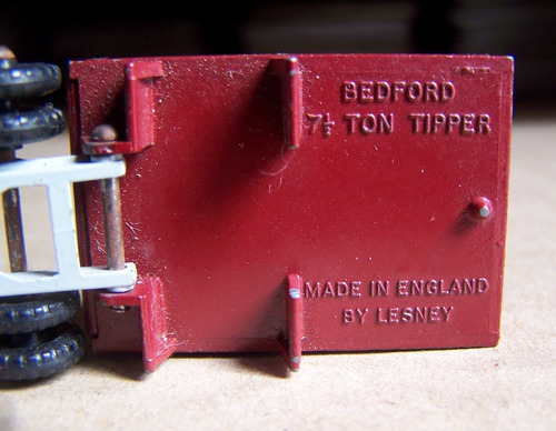 matchbox lesney ,bedford tipper truck  nº3