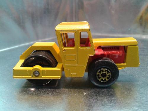 matchbox lesney - bomag road roller de 1978  aplanadora