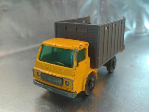 matchbox lesney - camion cattle truck de 1966 england #2