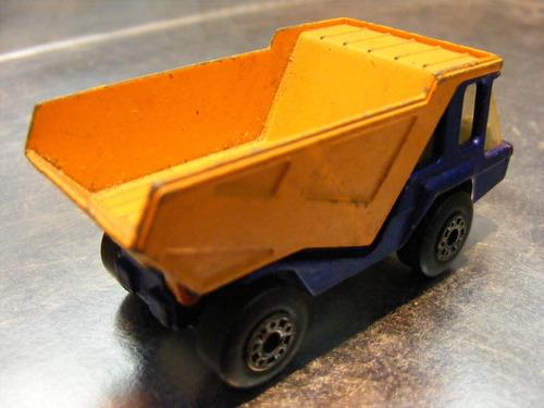 matchbox lesney - camion de volteo atlas de 1975 england #1