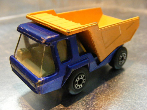 matchbox lesney - camion de volteo atlas de 1975 england #3