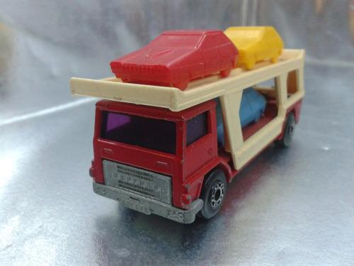 matchbox lesney - car transporter de 1976   m.i. england #2