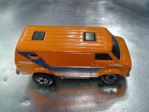 matchbox lesney - chevy van de 1979 m.i. england