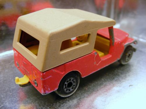 matchbox lesney - cj6 jeep de 1977 m.i. england