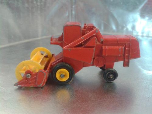 matchbox lesney - combine harvester de 1967 england #3