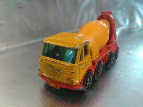 matchbox lesney - foden concrete truck de 1971 england #4