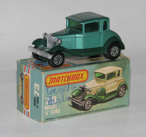 matchbox lesney ford model  a  made in engla