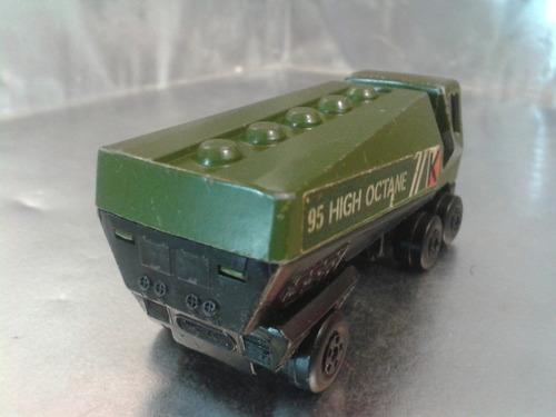 matchbox lesney - freeway gas tanker de 1976 m.i. england