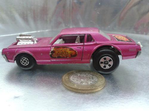 matchbox lesney - k 21 cougar dragster de 1970 speed kings