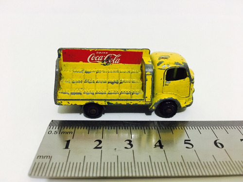 matchbox / lesney / karrier bantam / coca cola