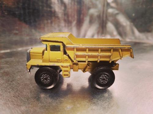 matchbox lesney - mack dump truck volteo de 1975 m.i england