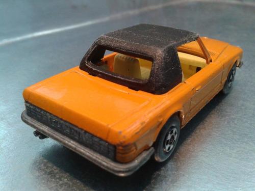 matchbox lesney - mercedes 350sl de 1973      m.i. england