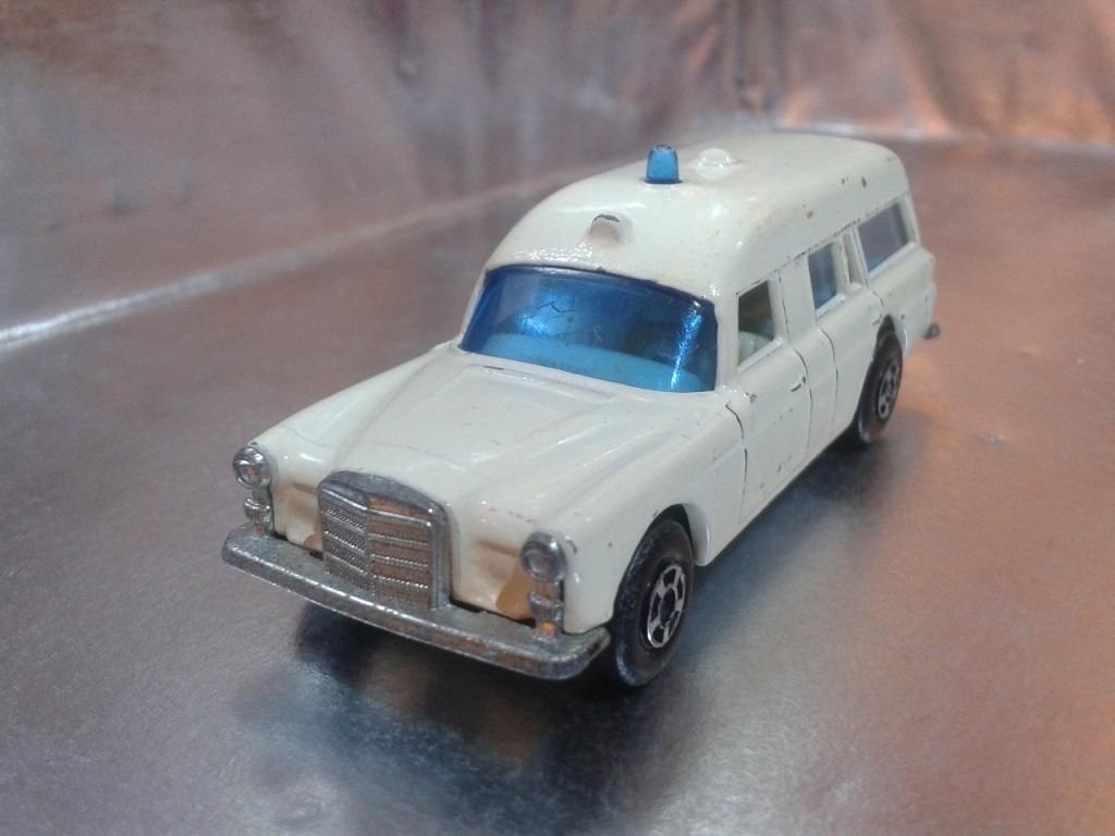 Matchbox lesney mercedes benz de 1970 m i england for Mercedes benz rochester mi
