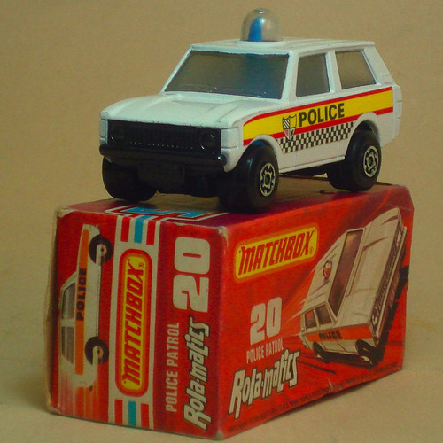 matchbox lesney no. 20 police patrol rola-matics england new