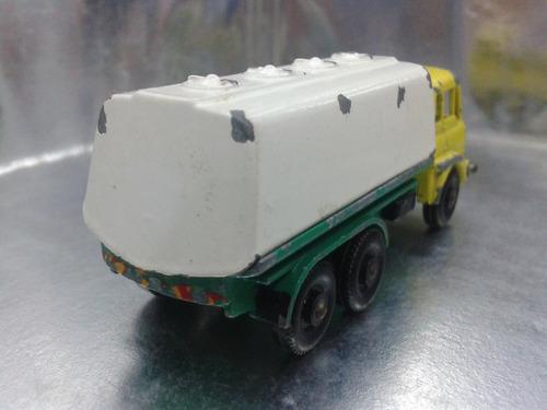 matchbox lesney - petrol tanker de 1964 m.i. england bs