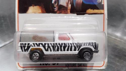 matchbox lesney - pick up wild life truck de 1978 england 2