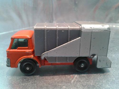 matchbox lesney - refuse truck de 1969 m.i. england #1