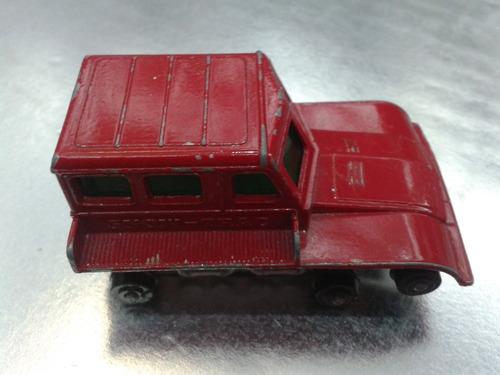 matchbox lesney - snow track  m.i. england