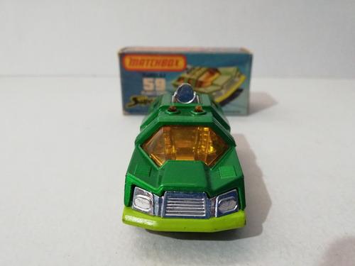matchbox lesney superfast planet scout en caja