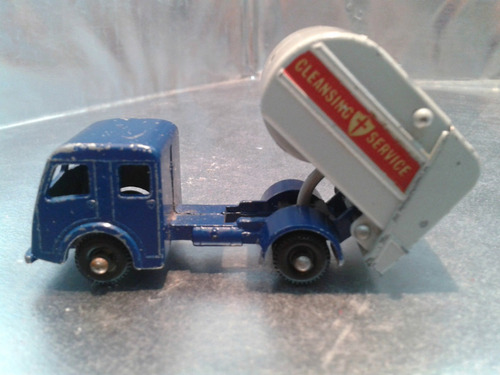 matchbox lesney - tippax refuse collector de 1963