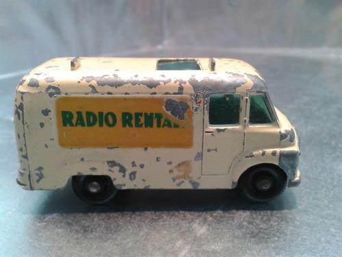 matchbox lesney - t.v. service van de 1963 m.i. england